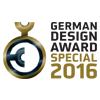 Cerniera per porte in alluminio a 2 ali German-design-award