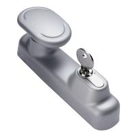 Maniglia esterna pomolo fisso con cilindro