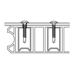 Vite per persiane e scuri in alluminio,legno, PVC SPB2