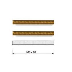 Kit fissaggio maniglione doppio per porte in alluminio, legno e vetro - Tropex Design