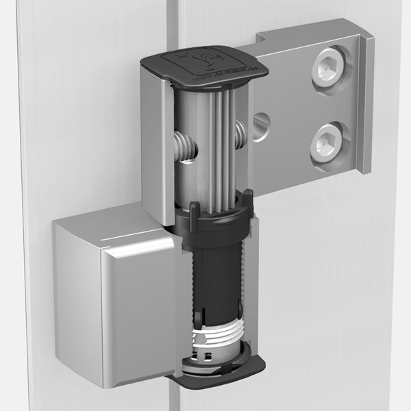 Cerniera per porte in allumino universale a 2 ali serie 60 for Spranga universale per porte