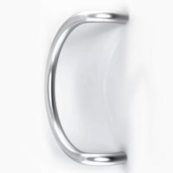 Maniglione per porta in acciaio inox satinato Serie 3C - Tropex Design