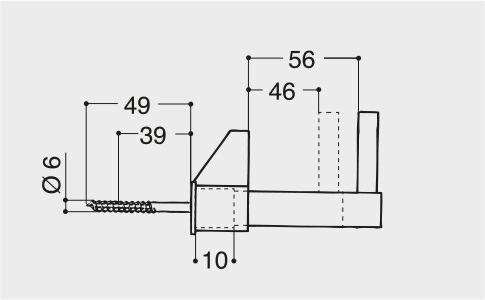 Fermapersiane manuale Calabrone - EsinPlast