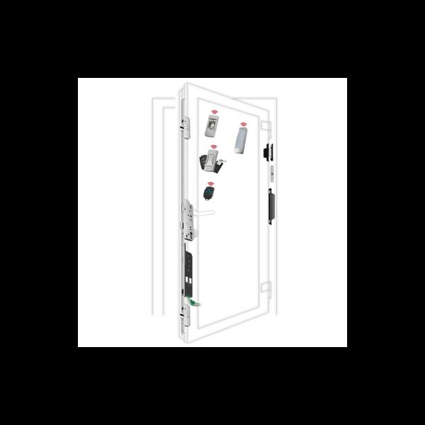 Serratura motorizzata multipunto per porte in alluminio Autotronic 834