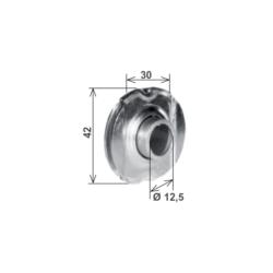 Cuscinetto a sfera tapparelle per innesto 30 mm