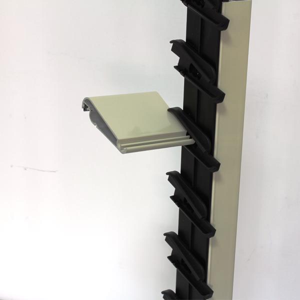 Meccanismo per persiane a lamelle orientabili da 55 mm a 22 elementi per camera anta da 35/36 mm - Teknalsystem