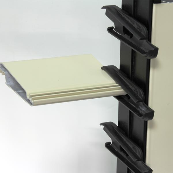 Meccanismo per persiane a lamelle orientabili tipo Perla 70 a 16 elementi per camera anta da 35/36 mm - Teknalsystem
