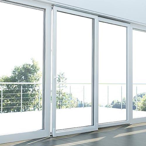 Sistema apertura per finestra scorrevole a ribalta