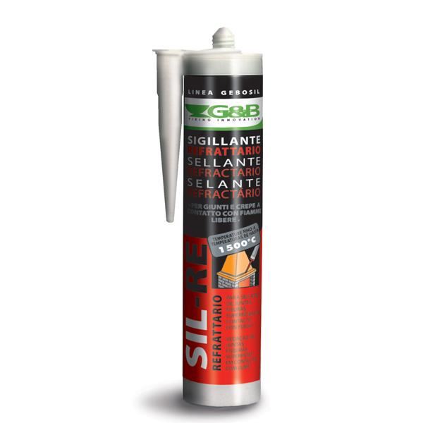 Sigillante refrattario Sil-Re resistente fino a 1500° - G&B