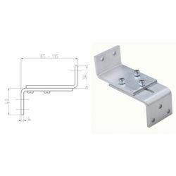 Staffa regolabile in alluminio