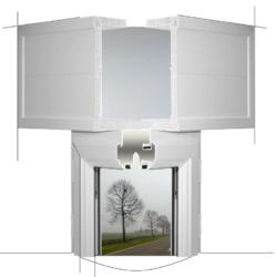 Profili PVC per sistema cassonetto