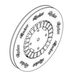 Astina di poliammide in bobina - Fapim